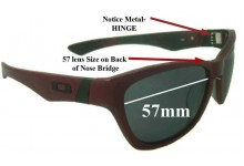 Oakley Jupiter LX Replacement Sunglass Lenses - 57mm wide *Please Measure As There are 2 Sizes*