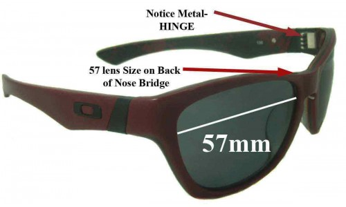 Oakley Jupiter LX New Sunglass Lenses - 57mm wide *Please Measure As There are 2 Sizes*