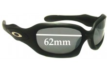 Oakley Monster Doggle Replacement Sunglass Lenses - 62mm Wide