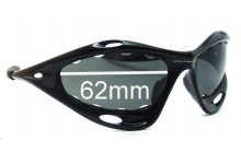 Oakley Racing Jacket Generation 2 Replacement Sunglass Lenses - Vented Lenses - Around 2006+ - 62mm Wide