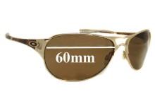 Oakley Restless Replacement Sunglass Lenses - 60mm wide