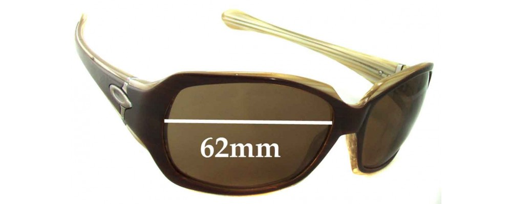Oakley Script Replacement Sunglass Lenses - 62mm wide