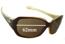 Oakley Script Replacement Sunglass Lenses - 62mm wide