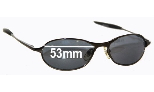 Oakley SP 4003 Replacement Sunglass Lenses 53mm wide
