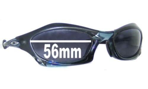 Oakley Splice Replacement Sunglass Lenses - 56mm Wide
