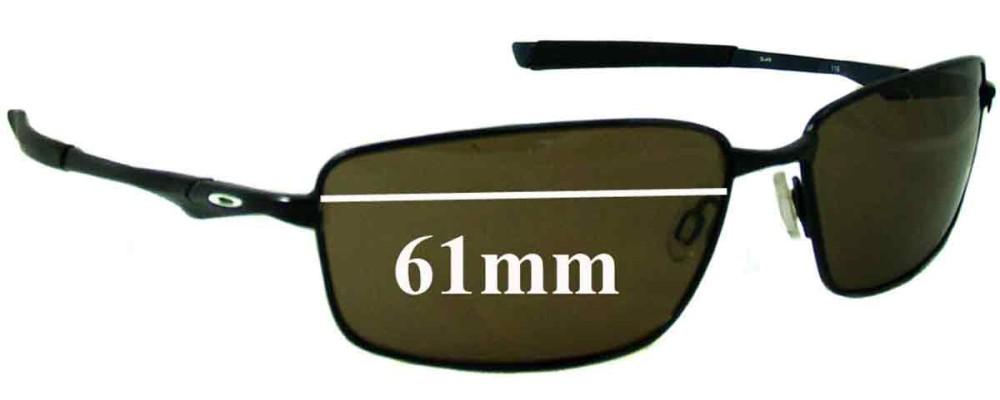 Oakley Splinter Replacement Sunglass Lenses - 61mm Wide