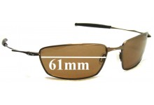 Oakley Square Whisker Replacement Sunglass Lenses - 61mm Wide
