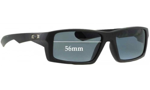 Oakley Twitch Replacement Sunglass Lenses - 56mm wide