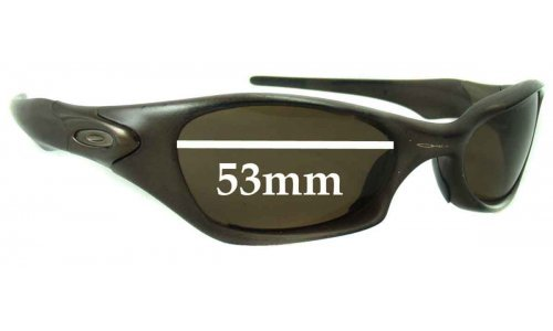 Oakley Valve Replacement Sunglass Lenses - 53mm wide