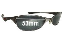 Oakley Wiretap Replacement Sunglass Lenses - 53mm wide