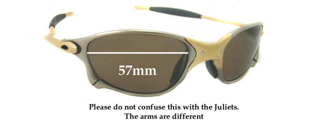 0dd8502cb1f Sunglass Fix Replacement Lenses for Oakley X METAL XX - 57mm wide
