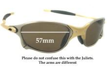 Oakley X METAL XX Replacement Sunglass Lenses - 57mm wide