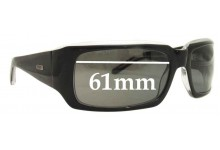 Odyssey Groove Replacement Sunglass Lenses - 61mm Wide Lenses