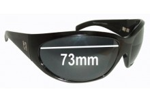 Odyssey Vintage Replacement Sunglass Lenses - 73mm Wide Lenses