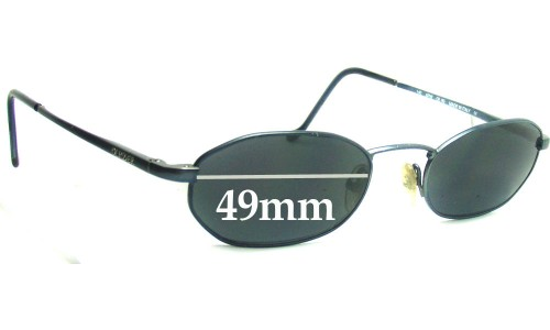 Oliver Peoples 90 Replacement Sunglass Lenses - 49mm wide