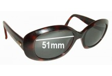 Oroton 1193 HZ Replacement Sunglass Lenses - 51MM Wide