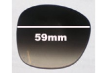Oroton Club Replacement Sunglass Lenses - 59mm Wide
