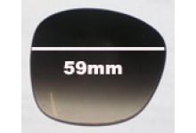 Oroton Club New Sunglass Lenses - 59mm Wide