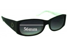 Sunglass Fix New Replacement Lenses for Oroton Honolulu - 56mm Wide