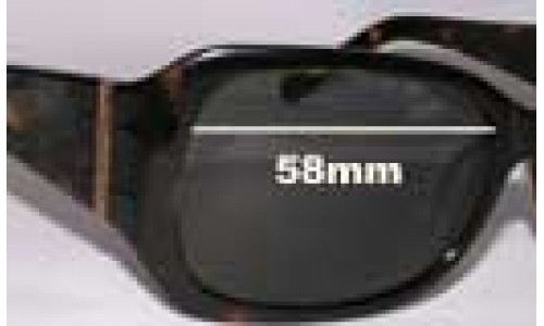 Oroton Oasis Replacement Sunglass Lenses - 58mm Wide
