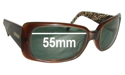 Oroton Roma Replacement Sunglass Lenses - 55mm Wide