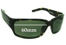 Otis Dark Horse Replacement Sunglass Lenses - 60mm wide