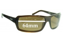Otis Ju Ju Replacement Sunglass Lenses - 64mm wide