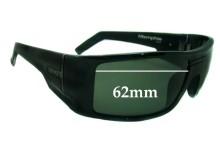 Otis Memphis Replacement Sunglass Lenses - 62mm wide