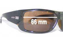 Otis Unknown Replacement Sunglass Lenses - 66mm Wide