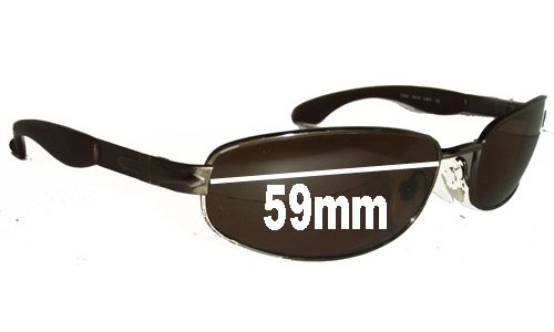 Persol 2138-S Replacement Sunglass Lenses - 59mm wide