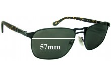 Persol 2380S Replacement Sunglass Lenses - 57mm Wide