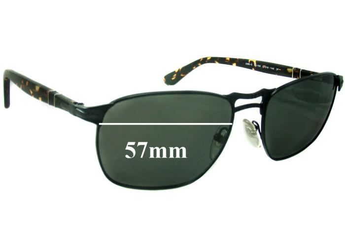 SFX Replacement Sunglass Lenses fits Persol 2197S 57mm Across Please Measure