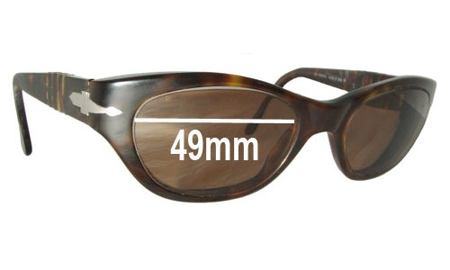 Persol 2524-S Replacement Sunglass Lenses - 49mm wide