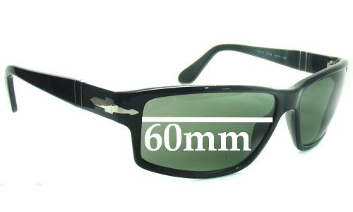 Persol 2763 Replacement Sunglass Lenses - 60mm wide