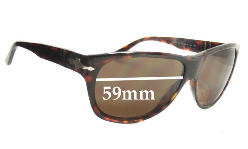 Persol 2962-S New Sunglass Lenses - 59mm wide