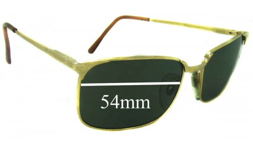 Persol RATTI PM 501 New Sunglass Lenses - 54mm wide