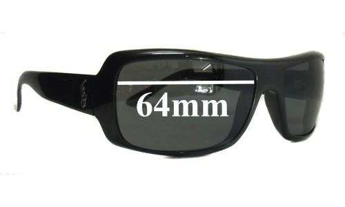 Polo 4022 Replacement Sunglass Lenses - 64mm Wide