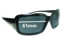 Prada SPR01H Replacement Sunglass Lenses - 61mm Wide