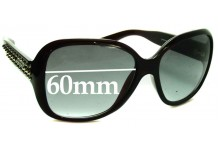 Prada SPR04M Replacement Sunglass Lenses - 60mm wide lens