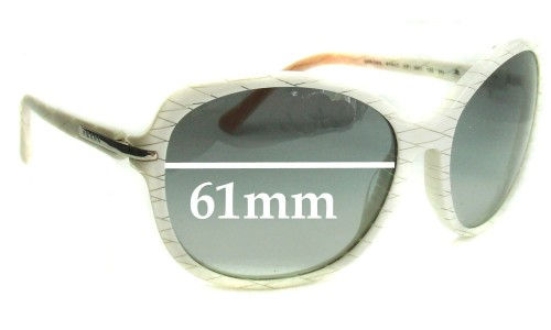 Sunglass Fix Replacement Lenses for Prada SPR04N - 61mm wide lens