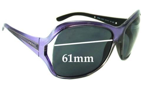 Prada PR05LS & SPR05L Replacement Sunglass Lenses - 61mm wide