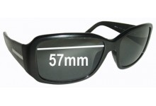 Prada SPR14H Replacement Sunglass Lenses - 57mm Wide