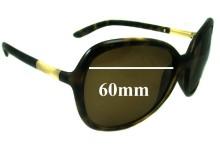 Prada SPR25L Replacement Sunglass Lenses - 60mm wide lens