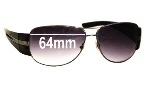 Prada SPR69H Replacement Sunglass Lenses - 64mm lens