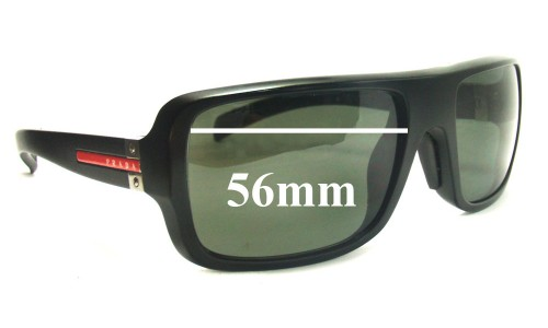 Prada SPS01 Replacement Sunglass Lenses 56MM wide