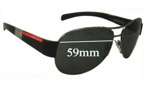 Prada SPS51H New Sunglass Lenses 59MM across