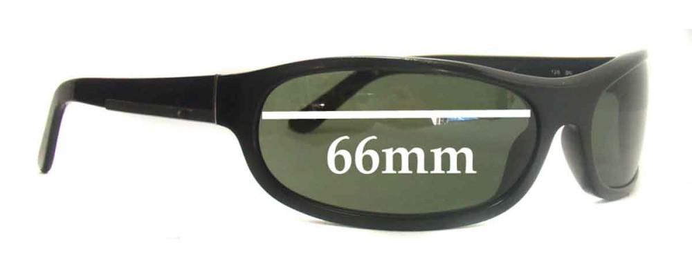 Prada SPR03I Replacement Sunglass Lenses - 66mm lens