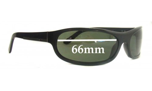 Sunglass Fix Replacement Lenses for Prada SPR03I - 66mm lens