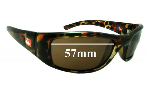 Quiksilver Preacher Replacement Sunglass Lenses - 57mm Wide