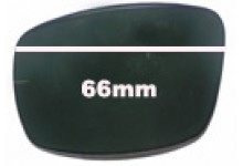 Quiksilver Lowride Replacement Sunglass Lenses - 64mm Wide